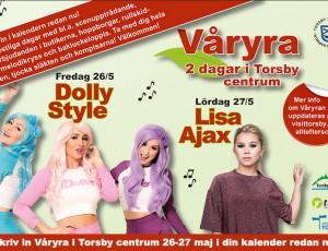 Torsby Våryra med Dolly Style och Lisa Ajax…