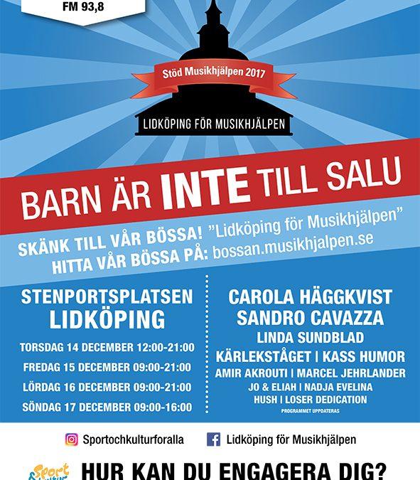 Musikhjälpen i Lidköping…