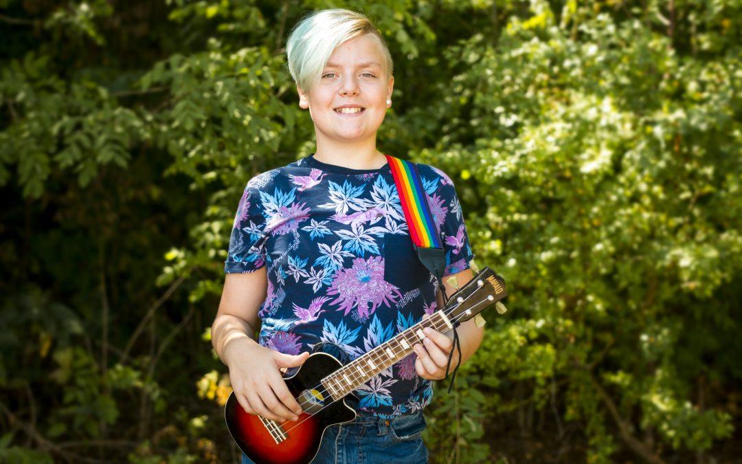 Lucas och Sebastian till Borås Pride på lördag